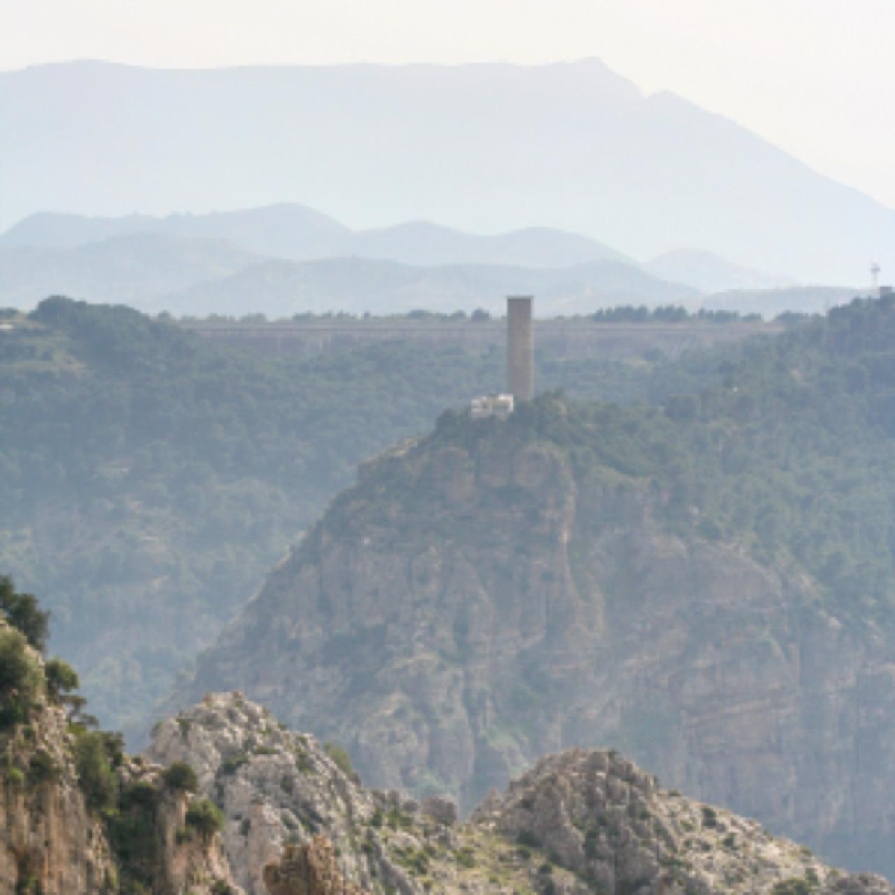 Hiking near the Litle King Path Way, El Chorro, Andalucia